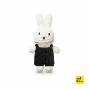 Miffy mit schwarzem Overall