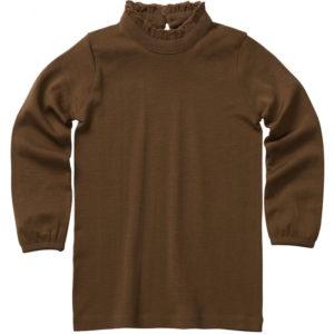 vanja cinnamon blouse merino