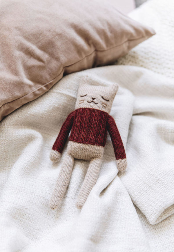 knitted soft toy