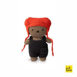 boris hat red