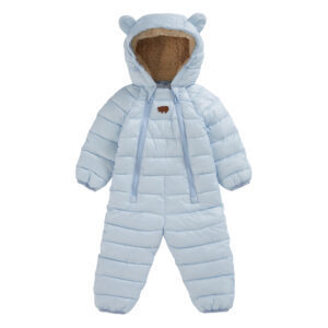 Onesie made using sustainable eco-down fill from Toästie Kids