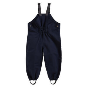 the Waterproof Dungarees from Töastie Kids are wet weather