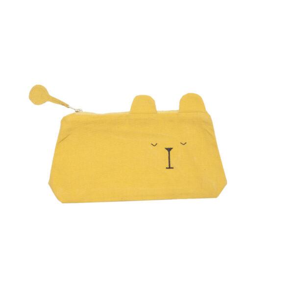animal pencil case Lazy Bear