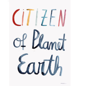 citizen of planet earth