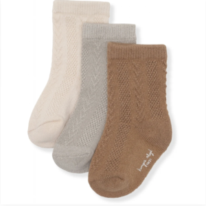 pointelle socks