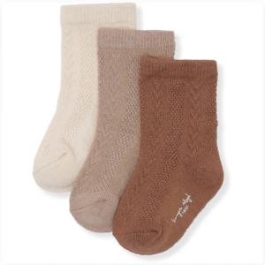 Mocca Hazel Creme socks