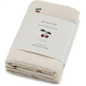 muslin cloth cherry