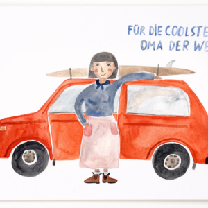 card coolste Oma