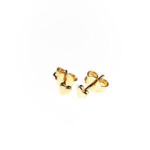 earring mini hearts