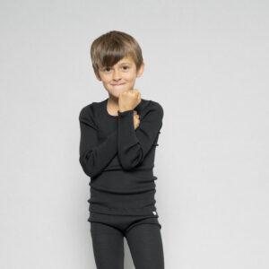 atlantic blouse minimalisma wool black