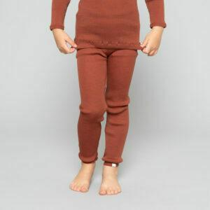 wool leggings minimalisma rhubarb