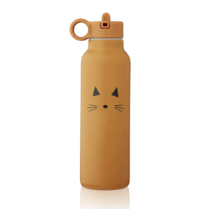 Cat mustard Liewood thermo bottle