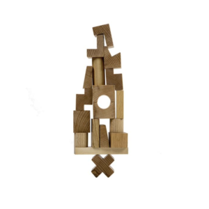 stacking tower wooden story