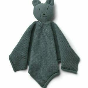 LW12553 - Milo knit cuddle cloth - 9459 Mr bear whale blue - Extra 0
