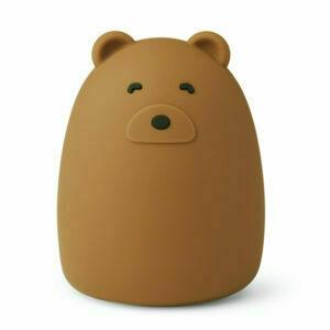 Winston night light - 9457 Mr bear golden caramel