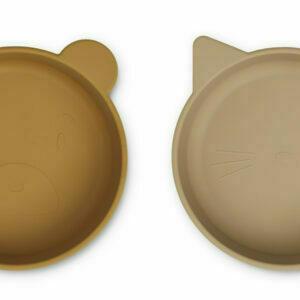Vanessa bowl 2-pack Golden caramel oat