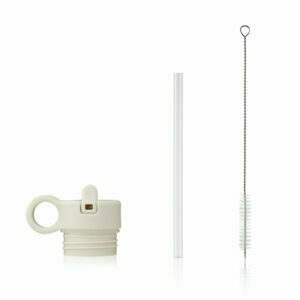 Lid with straw and brush for falk water bottle 350 ml